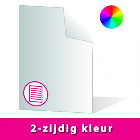Scriptie A4 | 2-zijdig kleur